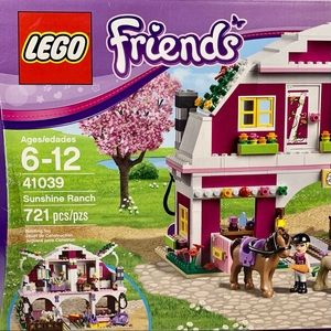 New Lego Friends Sunshine Ranch (41039) Retired